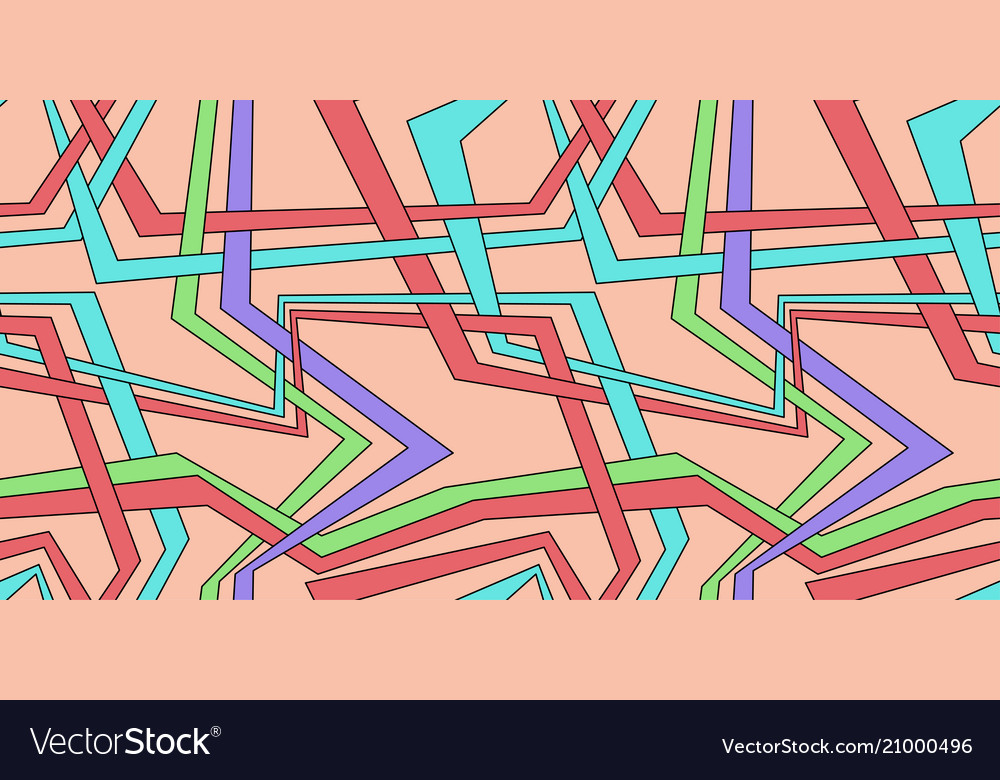 Abstract colored background with parallel lines
