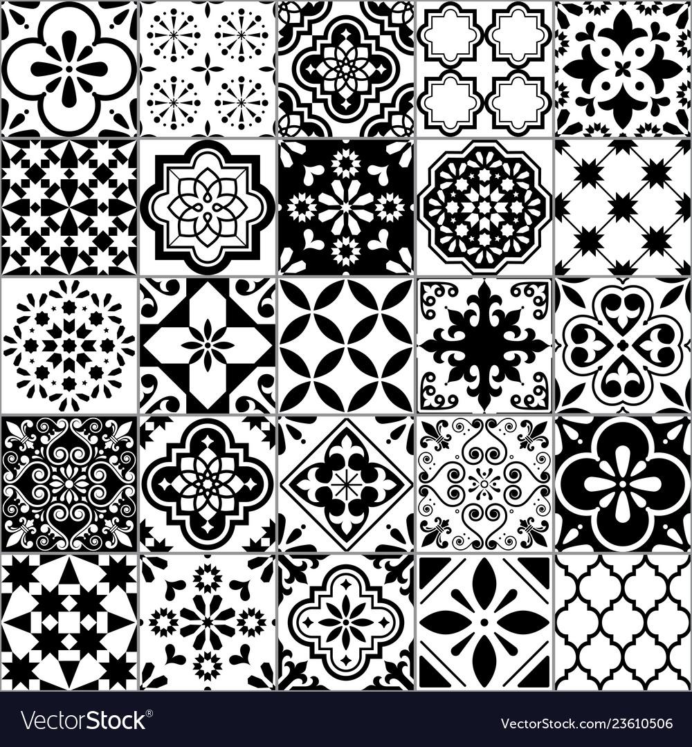 Lisbon Geometric Azulejo Tile Pattern