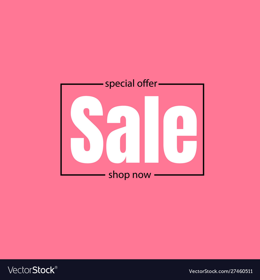 Sale banner discounts and