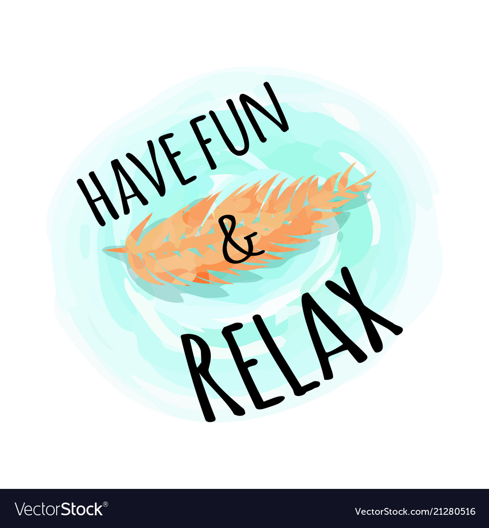 Have fun and relax background with exotic leaf