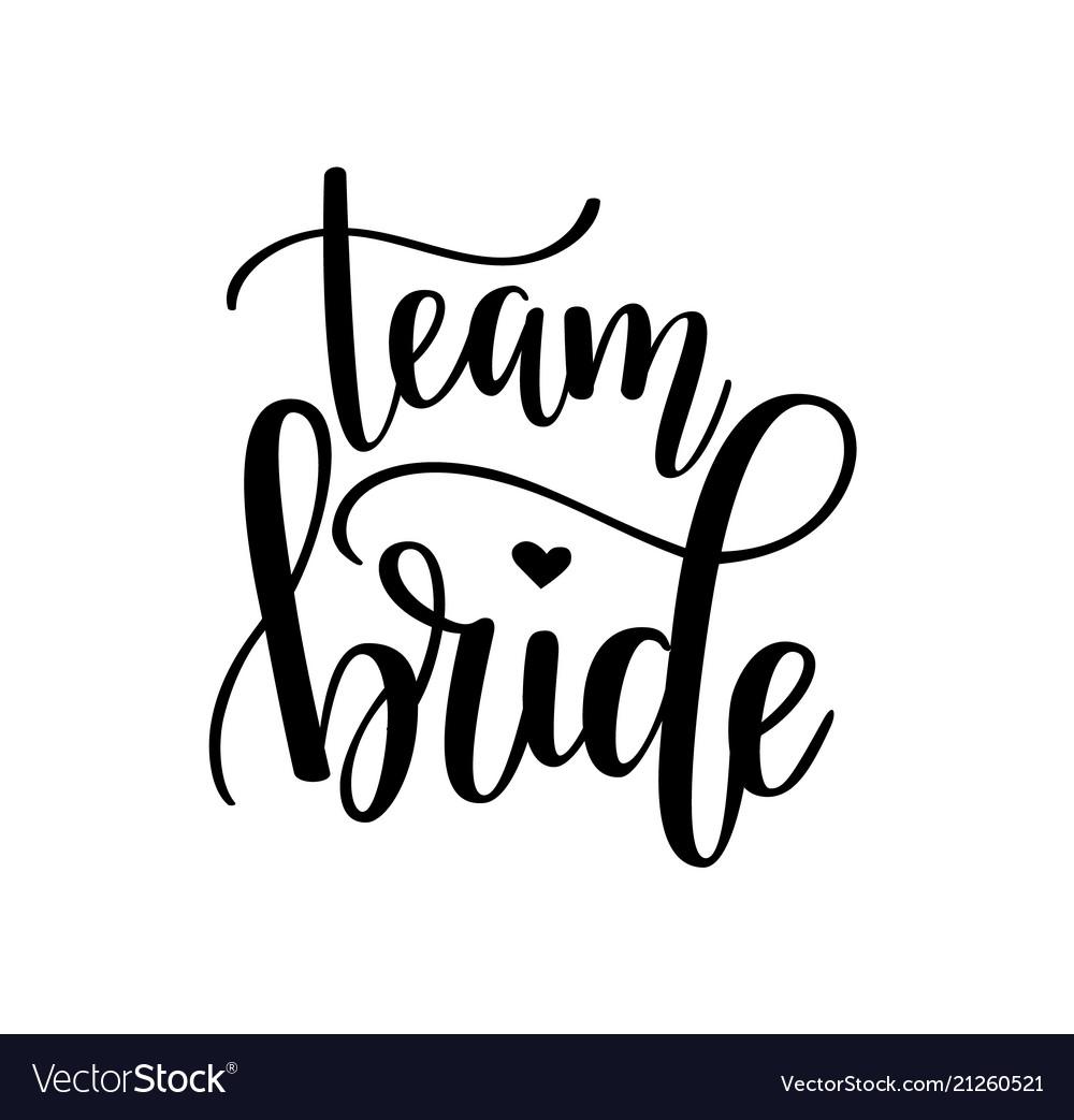 Team bride hen party bachelorette wedding