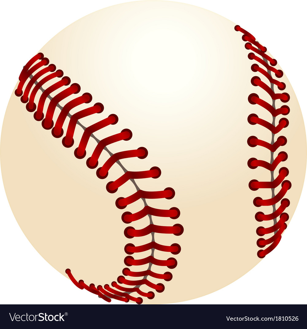 baseball royalty free vector image vectorstock rh vectorstock com baseball vector graphics baseball vector clipart