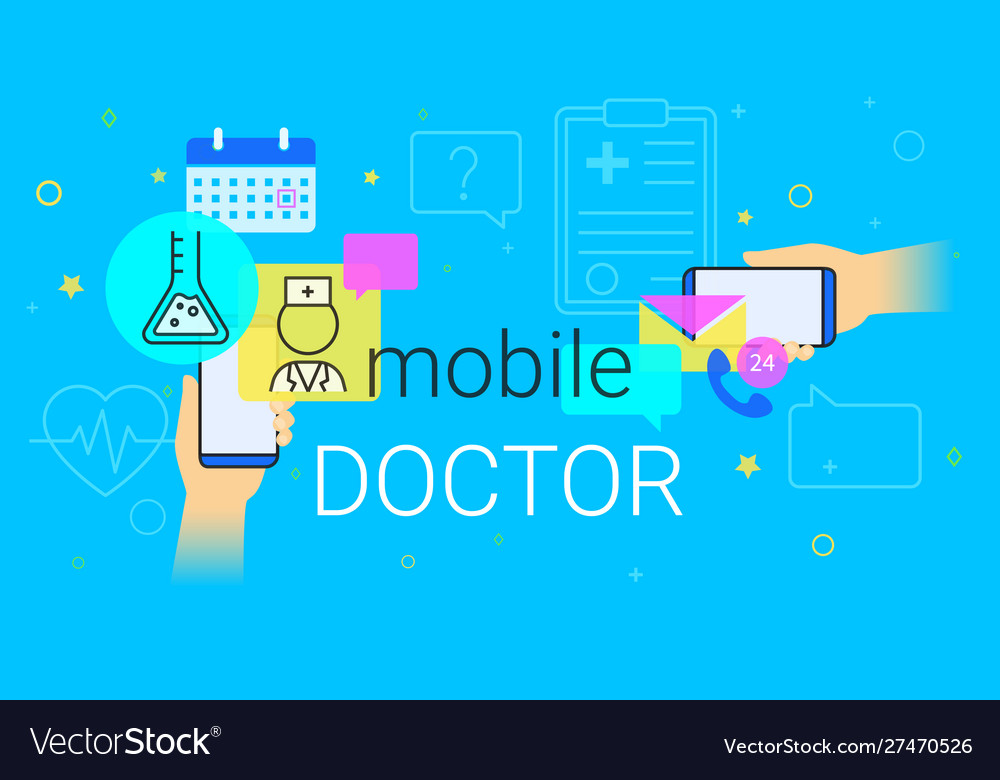 Mobile doctor and medicine research results on