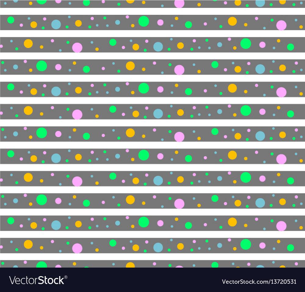 Pattern dots vector image