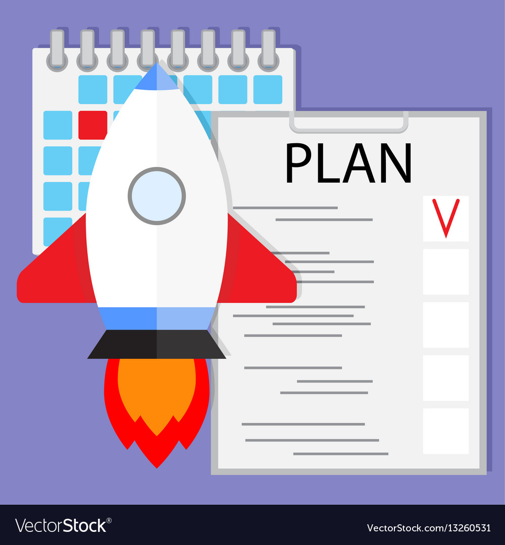 Schedule startup launch plan