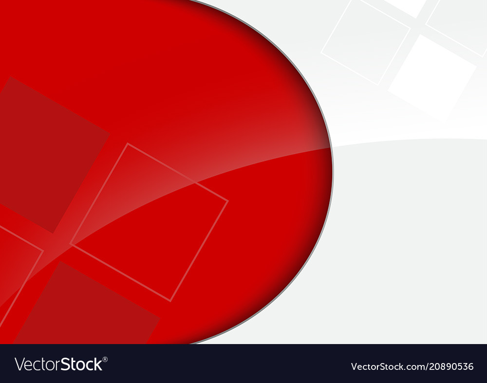 Red and white glossy background