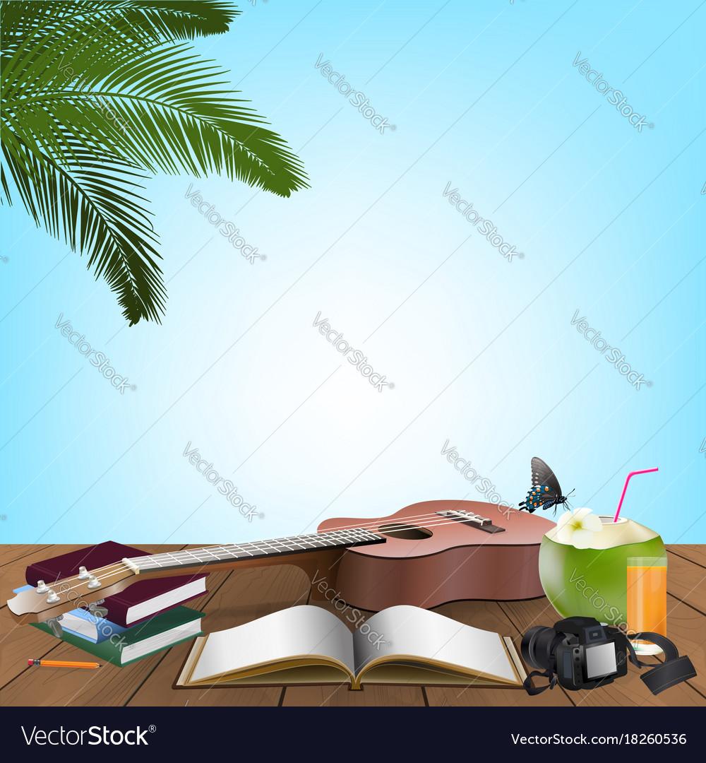 Summer day holiday vacation