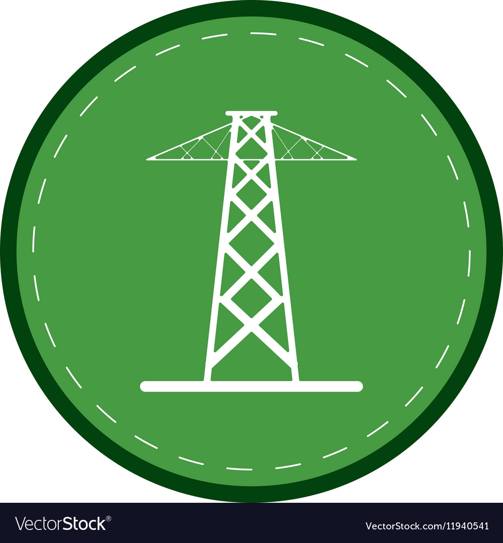 Electrical tower transmission energy power green