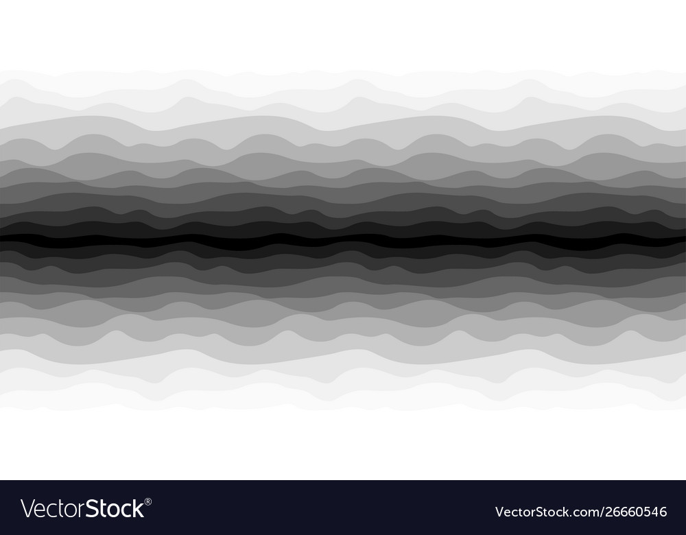 Abstract seamless wavy perspective background