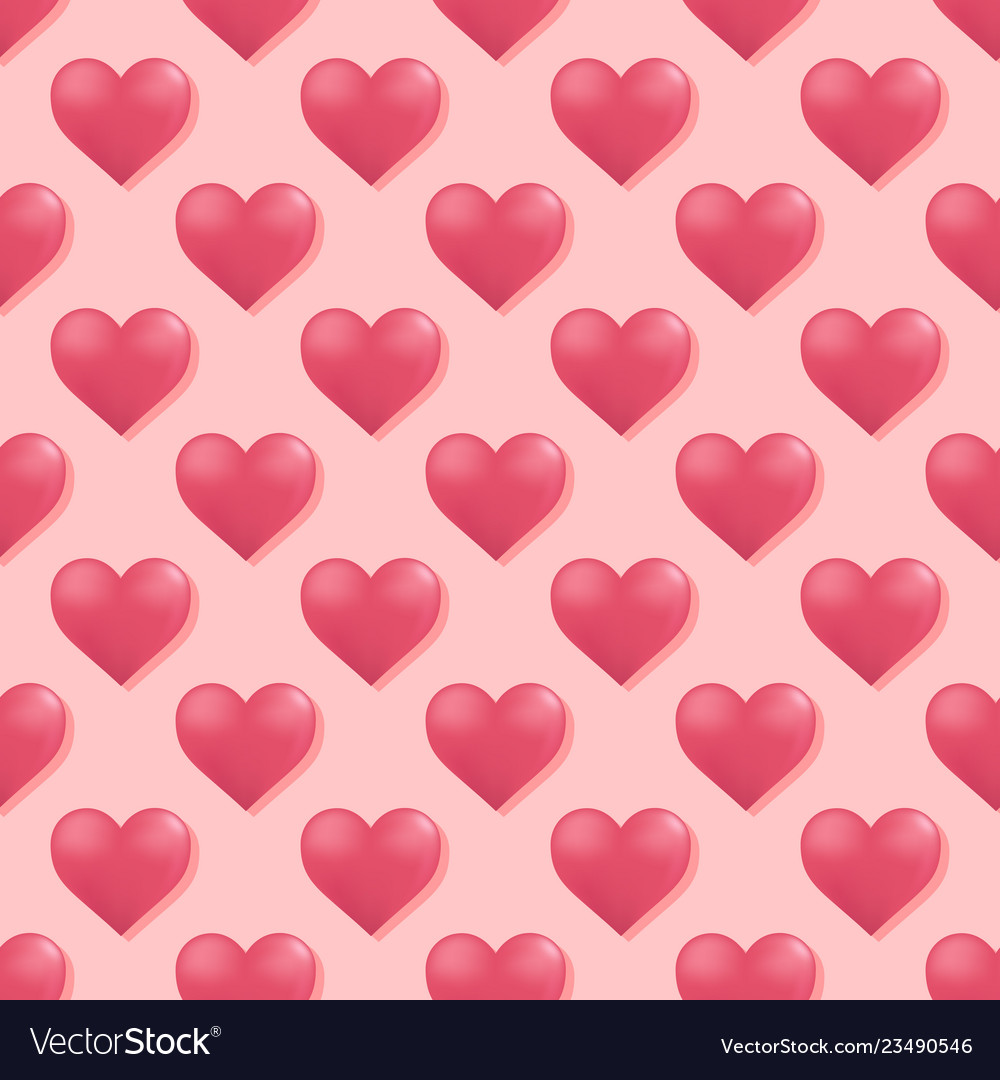 Seamless pattern with hearts hearts background