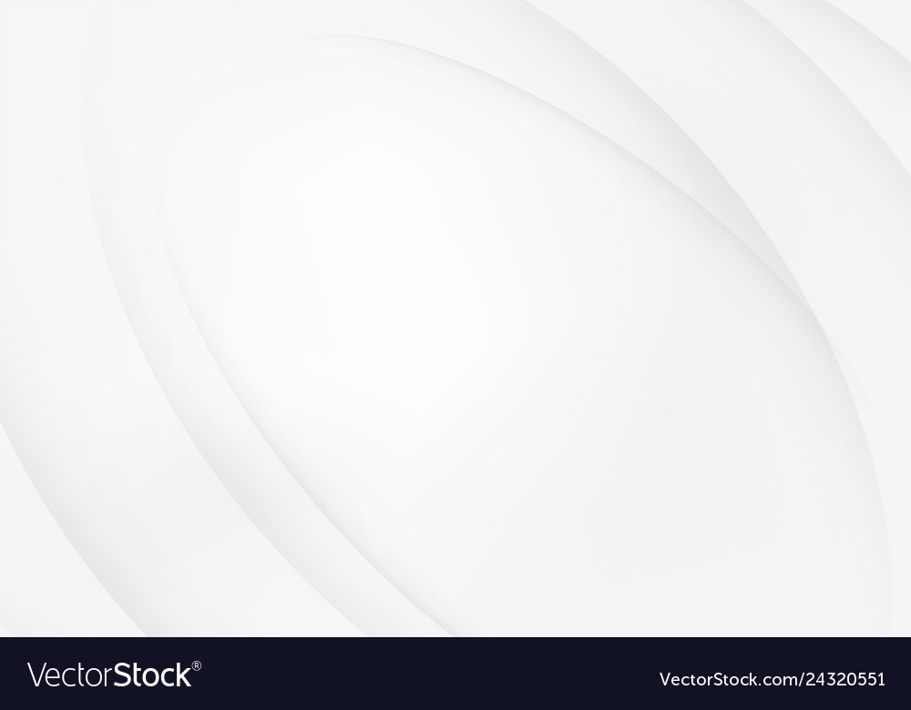 Abstract curves lines white and gray backgrounds