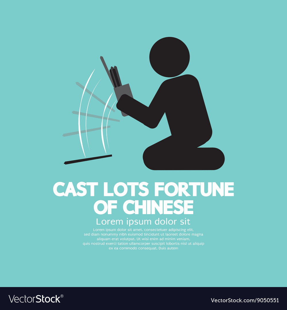 Cast Lots Fortune Of Chinese