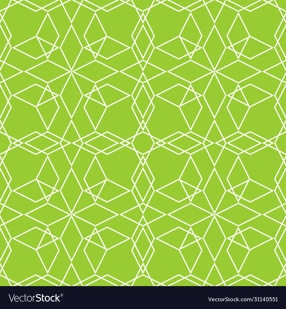 Tile line pattern or green and white wallpaper