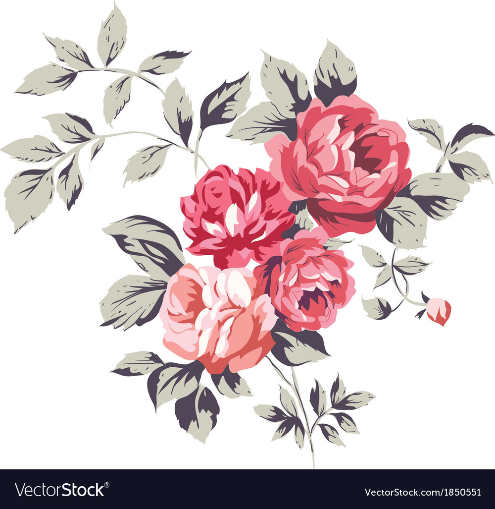 vintage pink roses royalty free vector image vectorstock global clip art black and white globe clipart