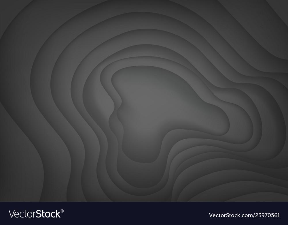 Abstract dark grey curve shadow design modern