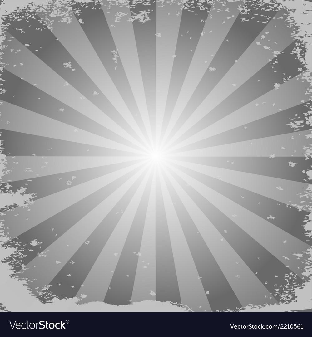 Stripe gray background vector image