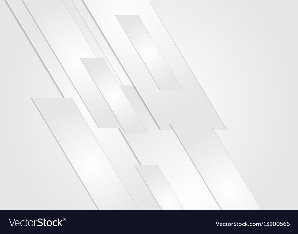 Abstract grey technology geometric background