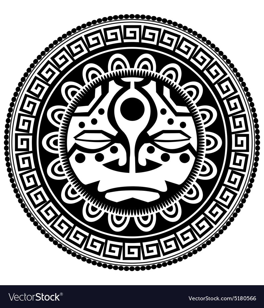 Polynesian Tattoo Royalty Free Vector Image Vectorstock
