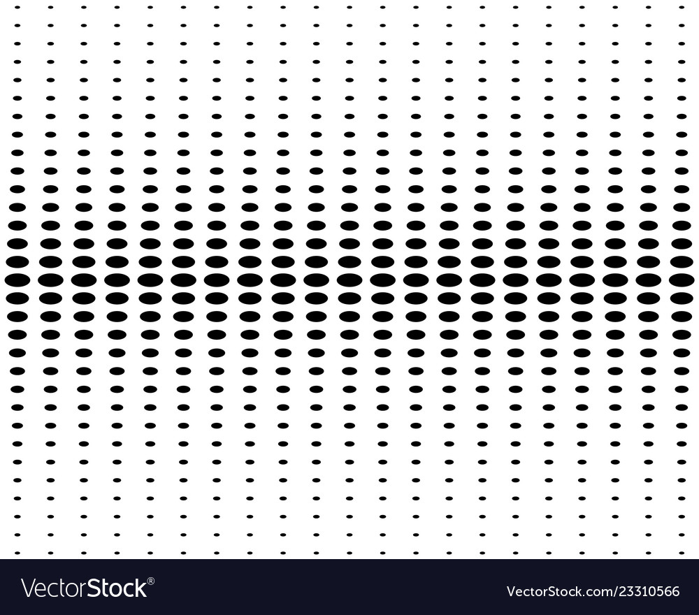 Vertical halftone circles on a white background