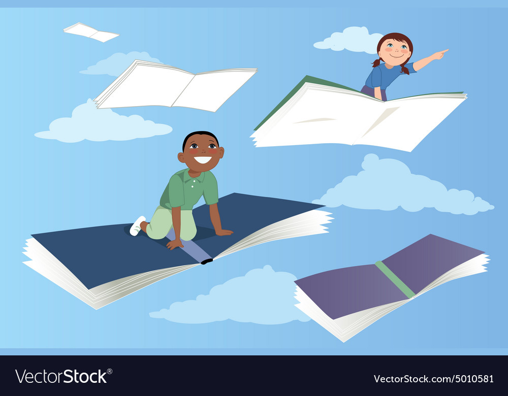 Sky is the limit vector image