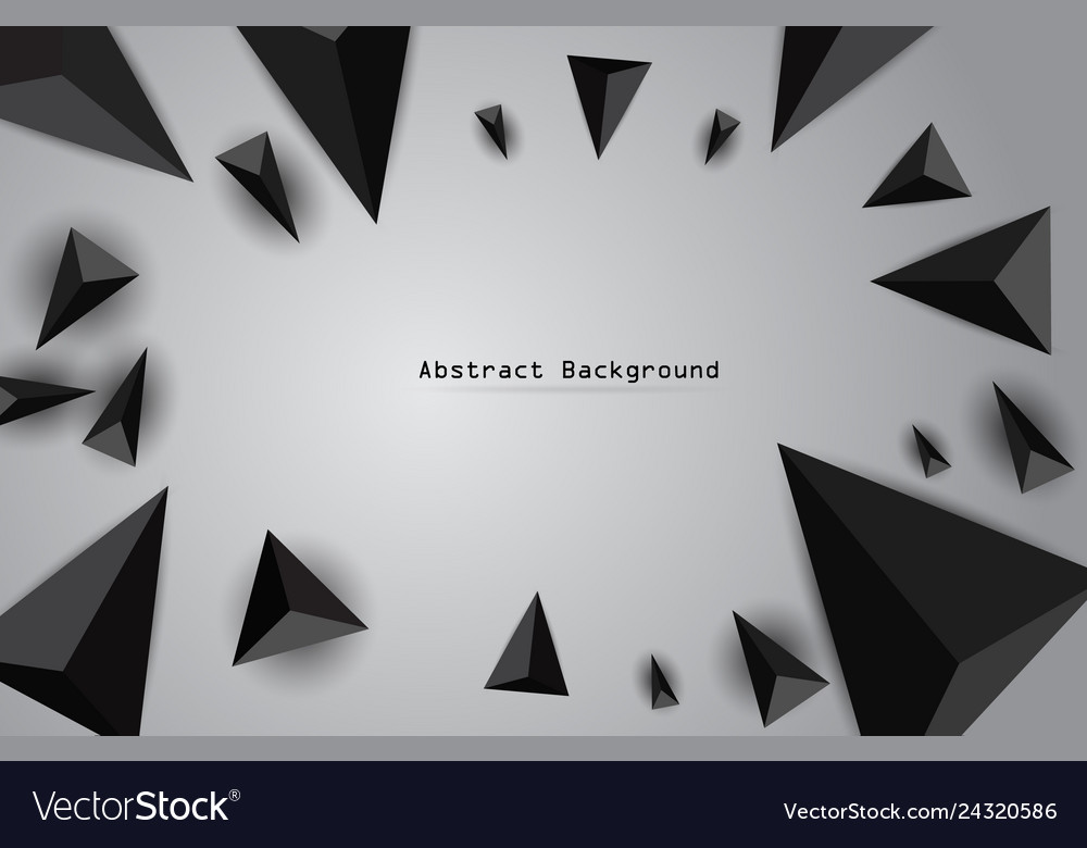 Abstract background with black realistic