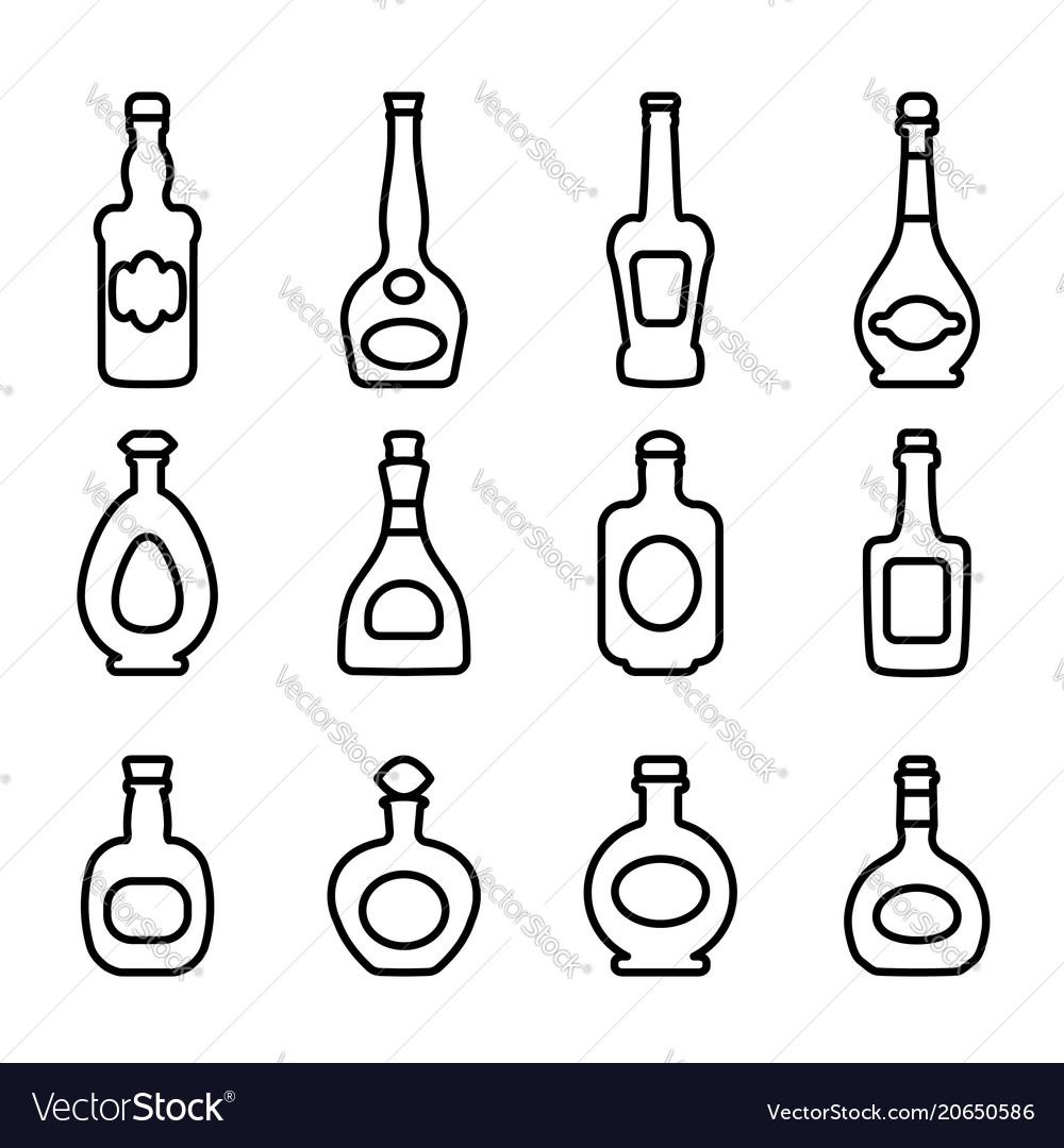 Icons bottles