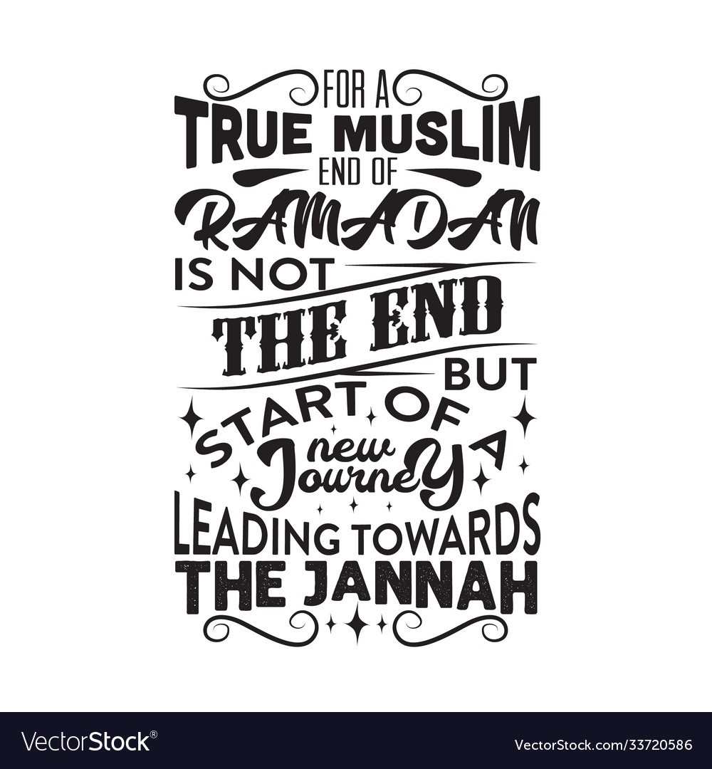 Ramadan quote for a true muslim and