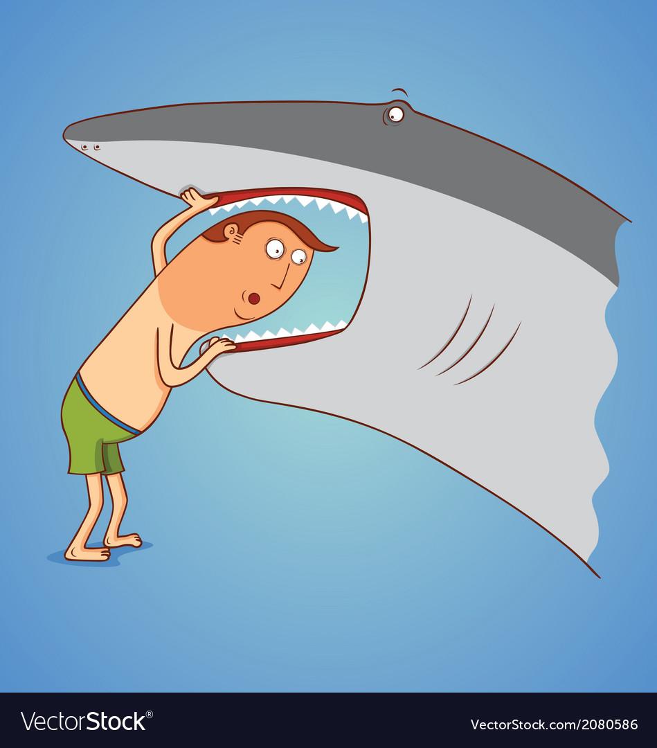 картинка у акулы зуб болит хорошие