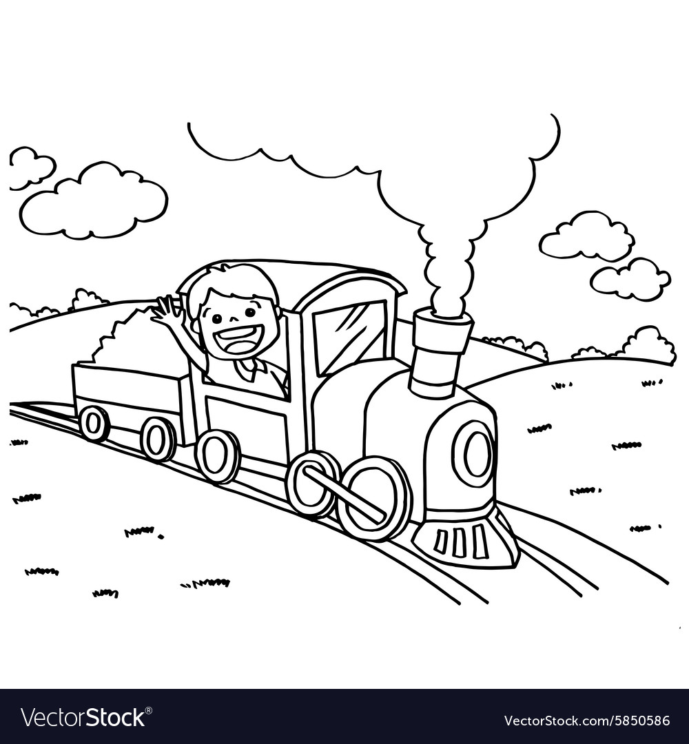 Train Coloring Pages – coloring.rocks! | 1080x1000