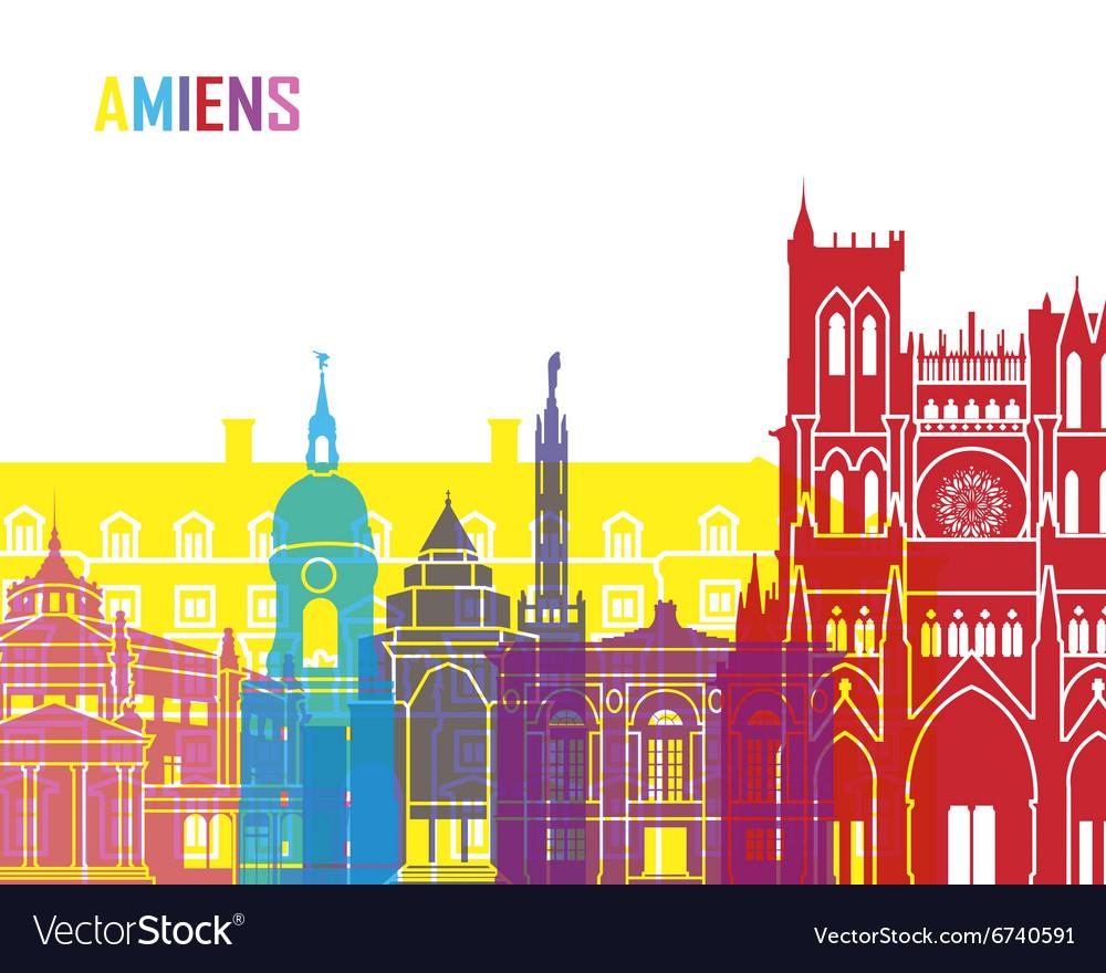 Amiens skyline pop