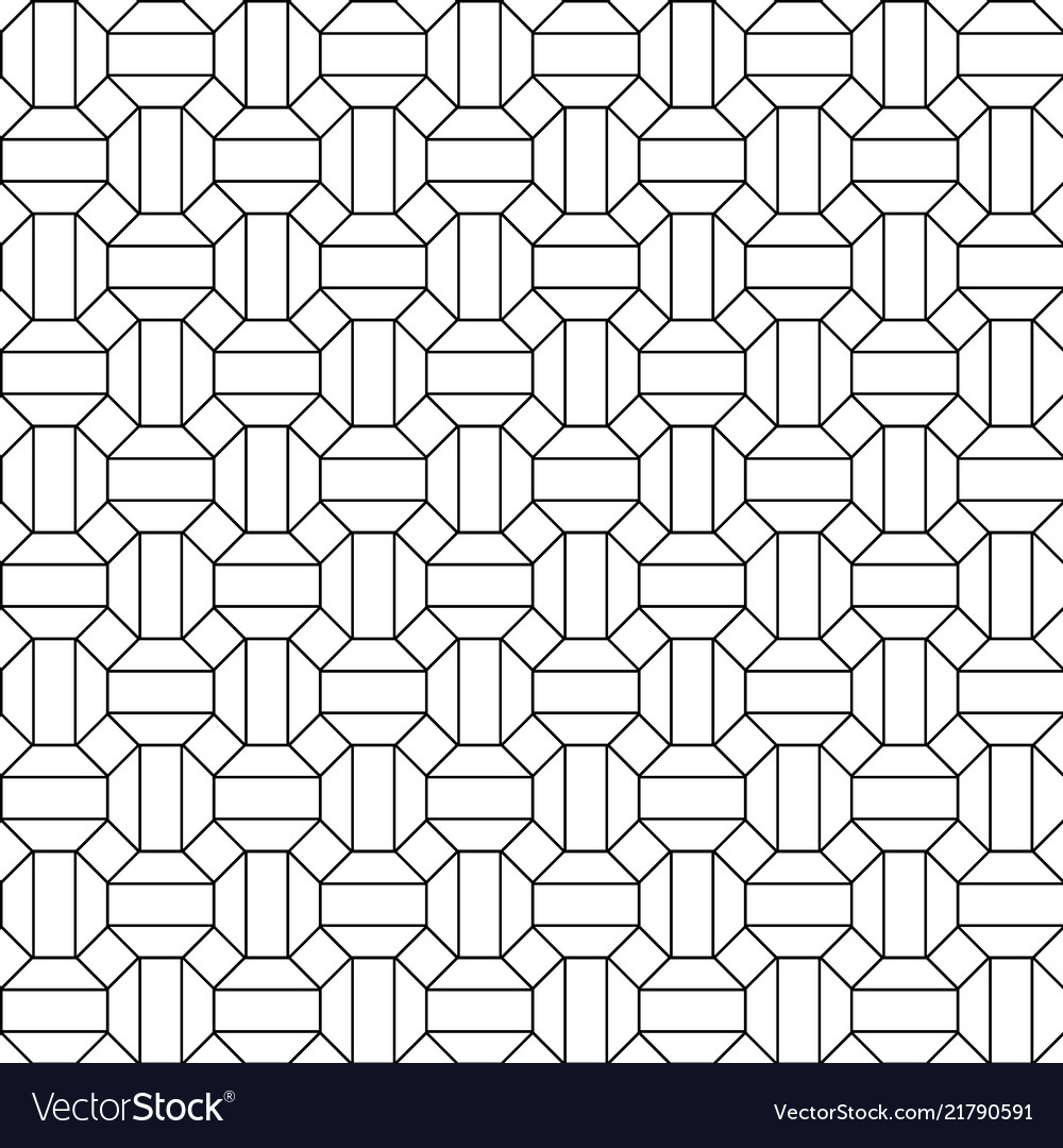 Honeycomb seamless hexagons pattern background