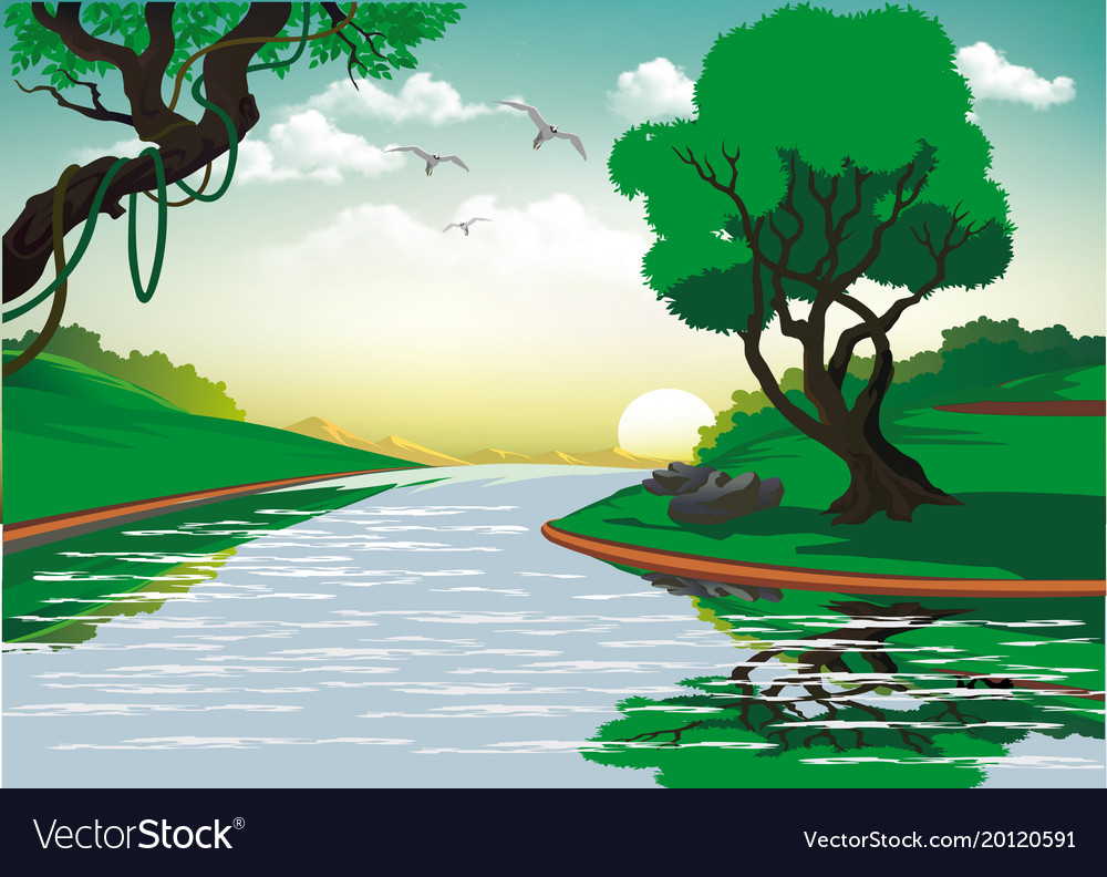 Download River Vector Image