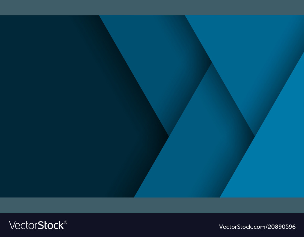 Geometric background of abstract blue dark