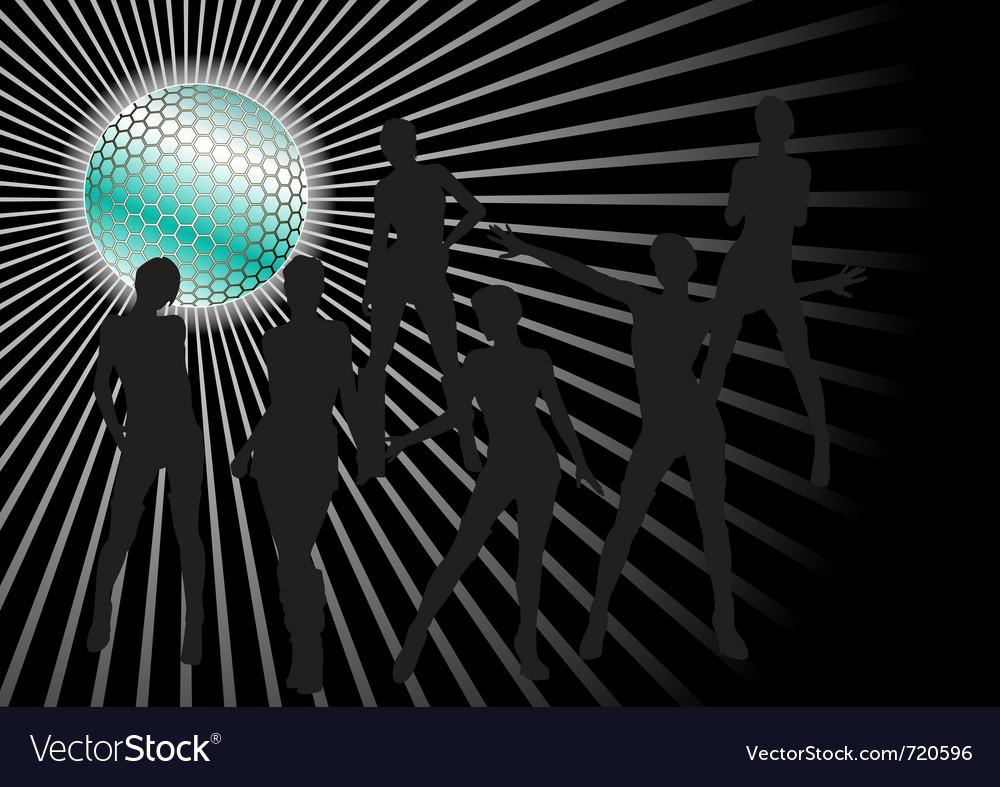 Girls dancing in disco