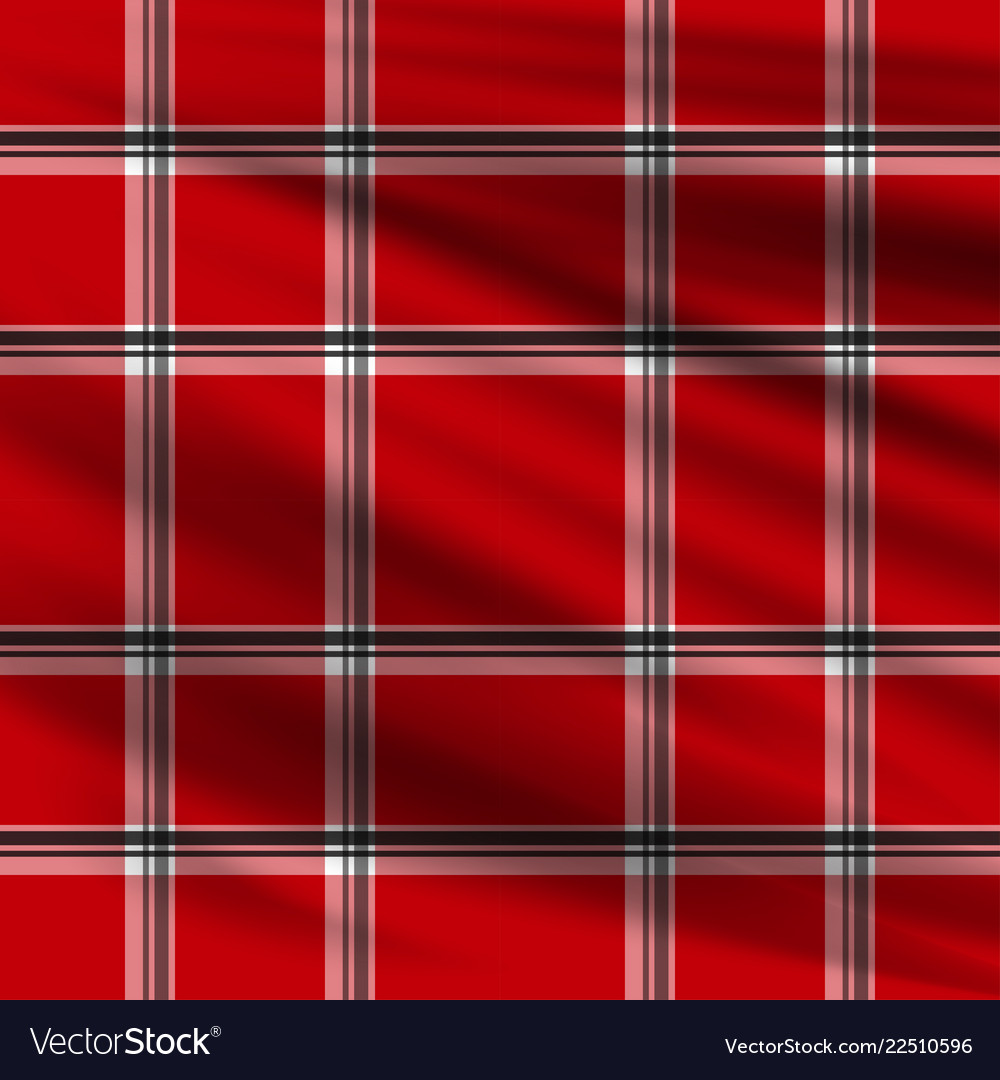 Red plaid lumberjake plaid black and red tartan