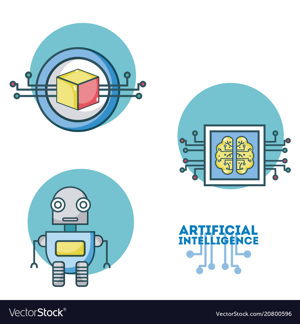 Set of artificial intelligence