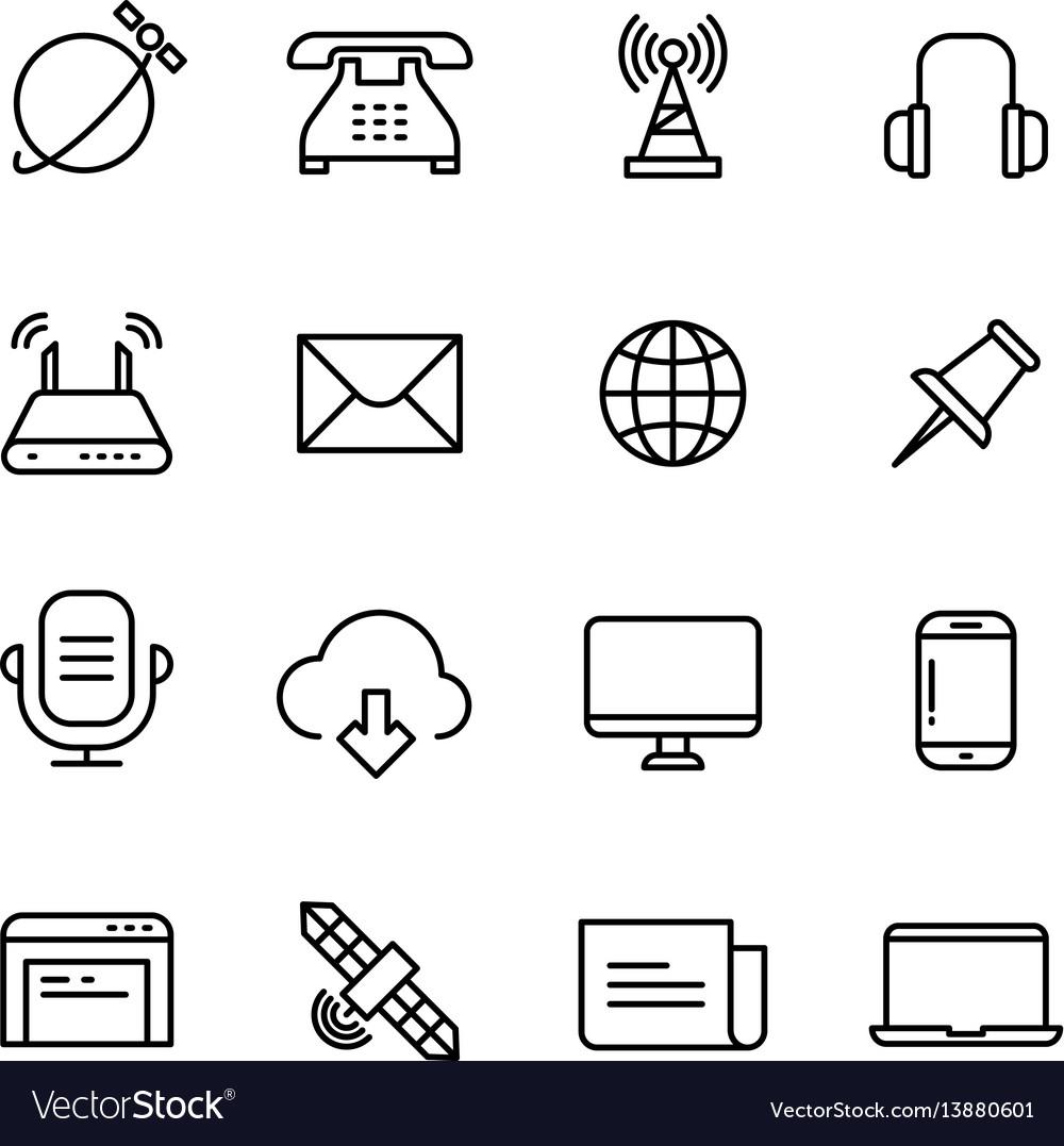 Communication monitoring phone marketing and web