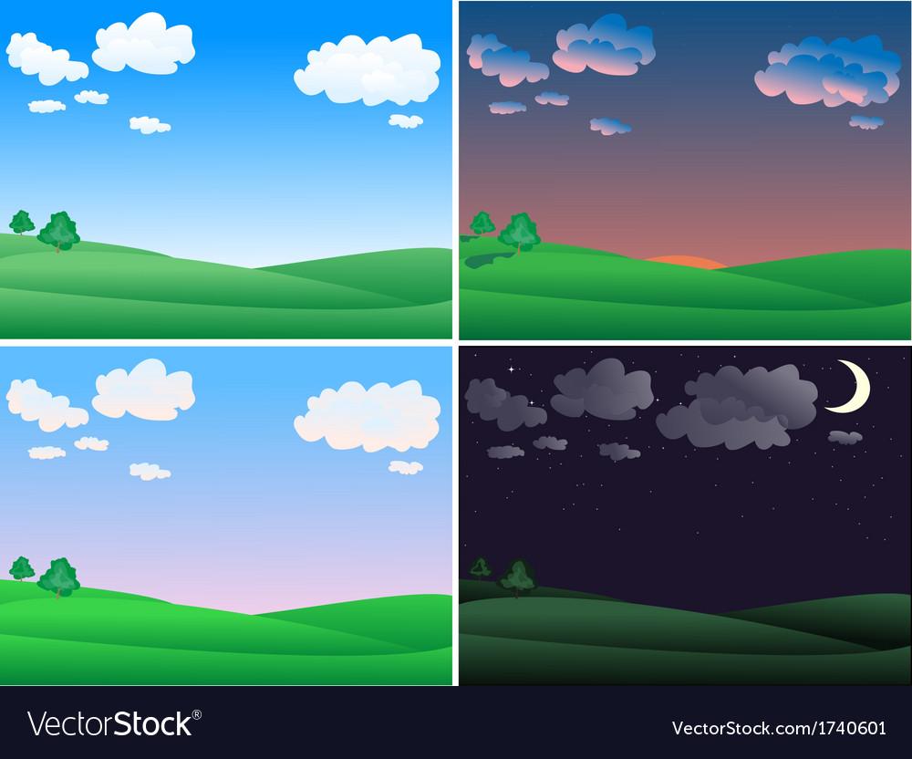 Landscape time