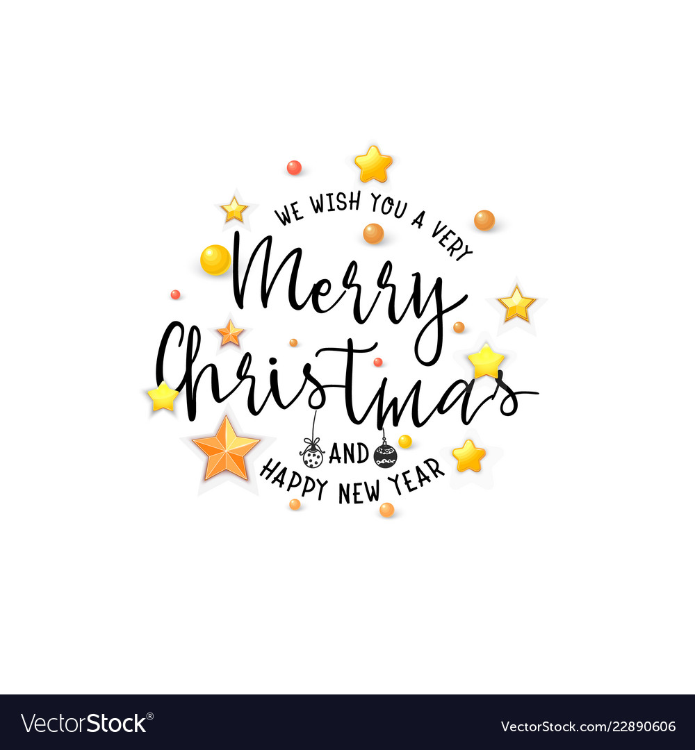 Congratulations merry christmas banner for cards