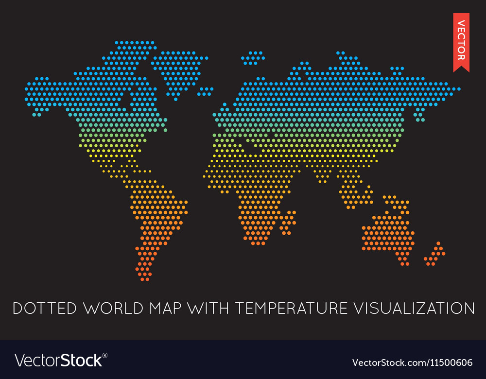 Flat World Map Infographic Map of the World