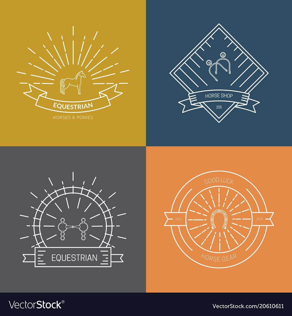Horse emblem options