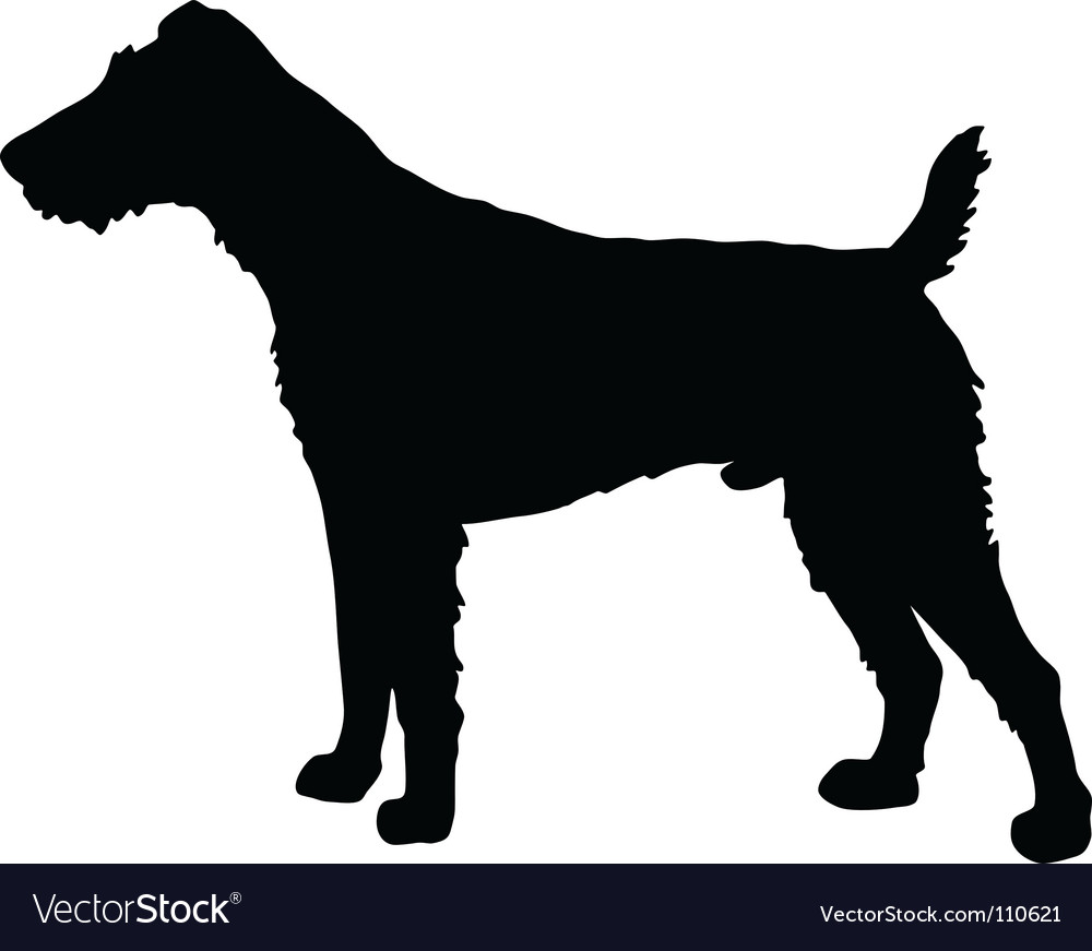 Fox terrier silhouette