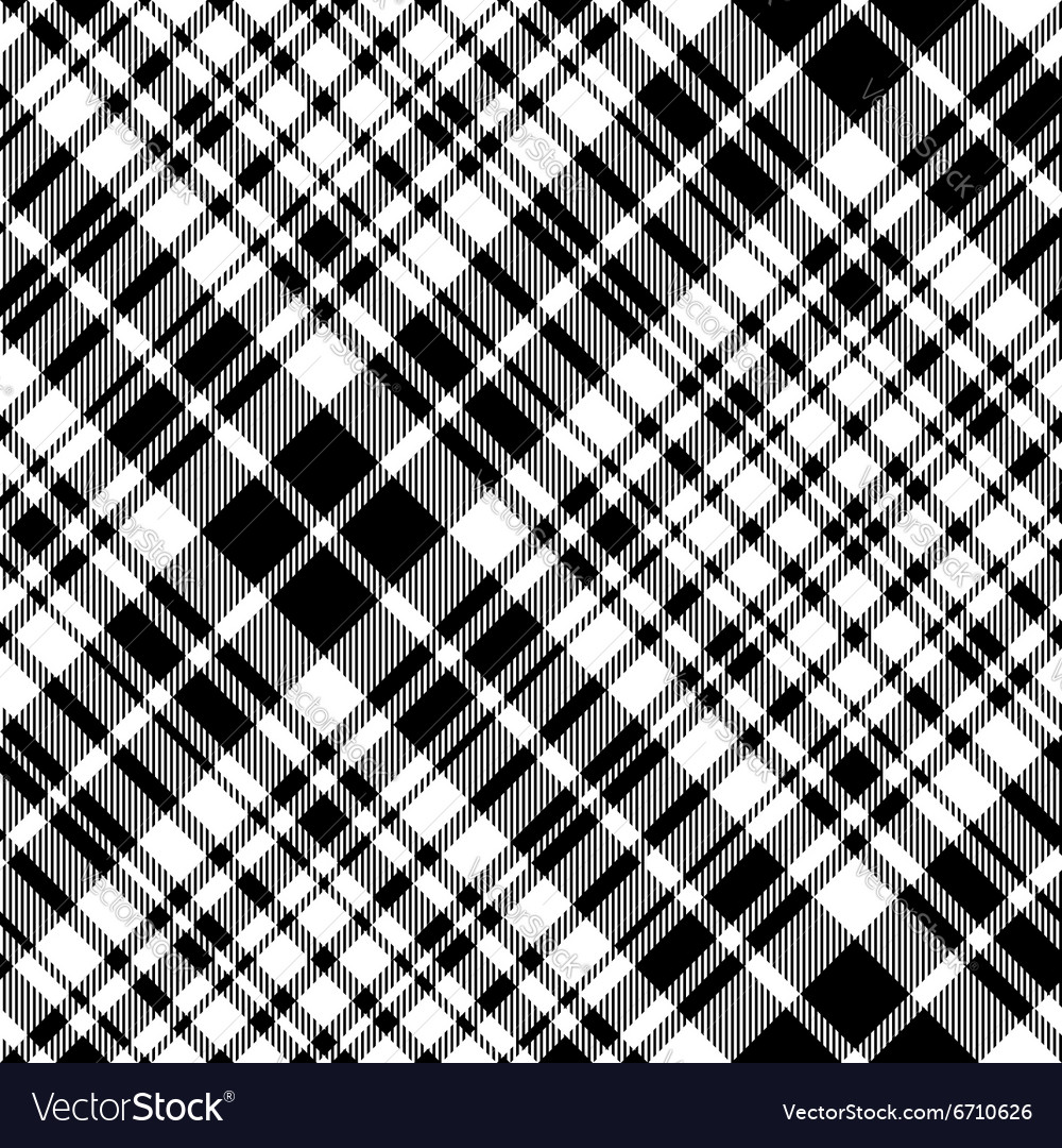 Tartan celtic fc seamless pattern diagonal fabric vector image