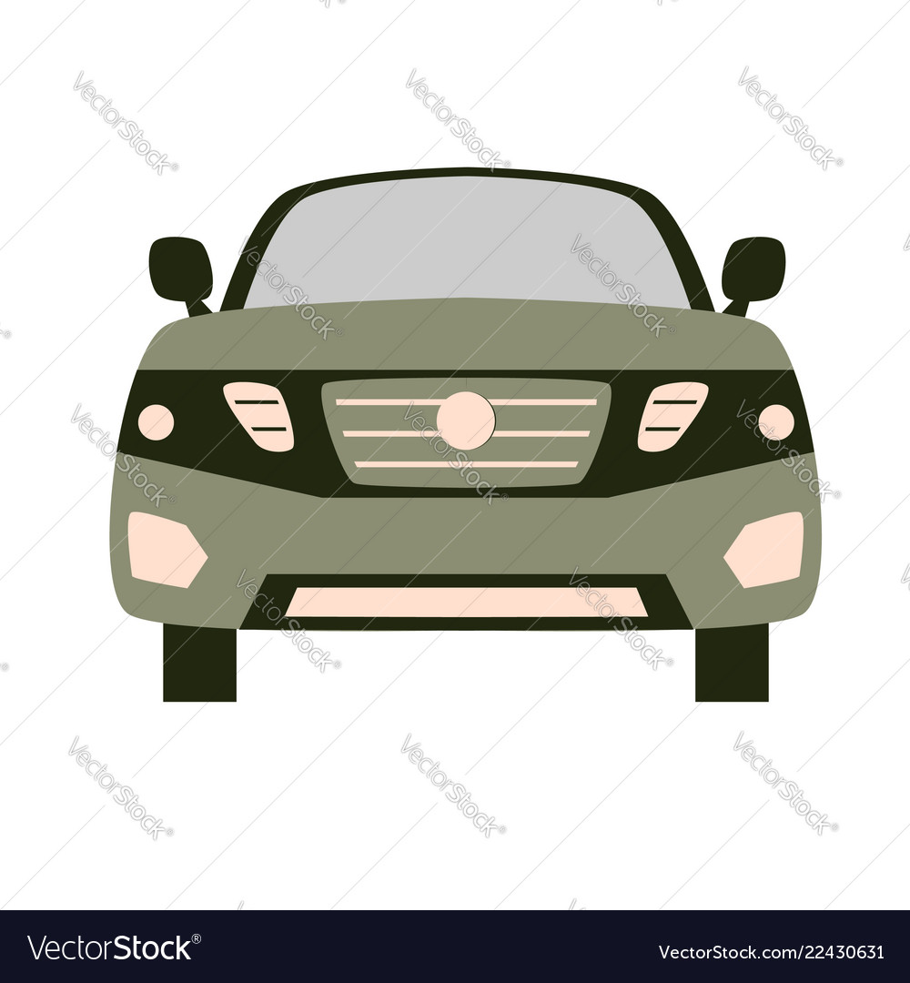 Car front flat