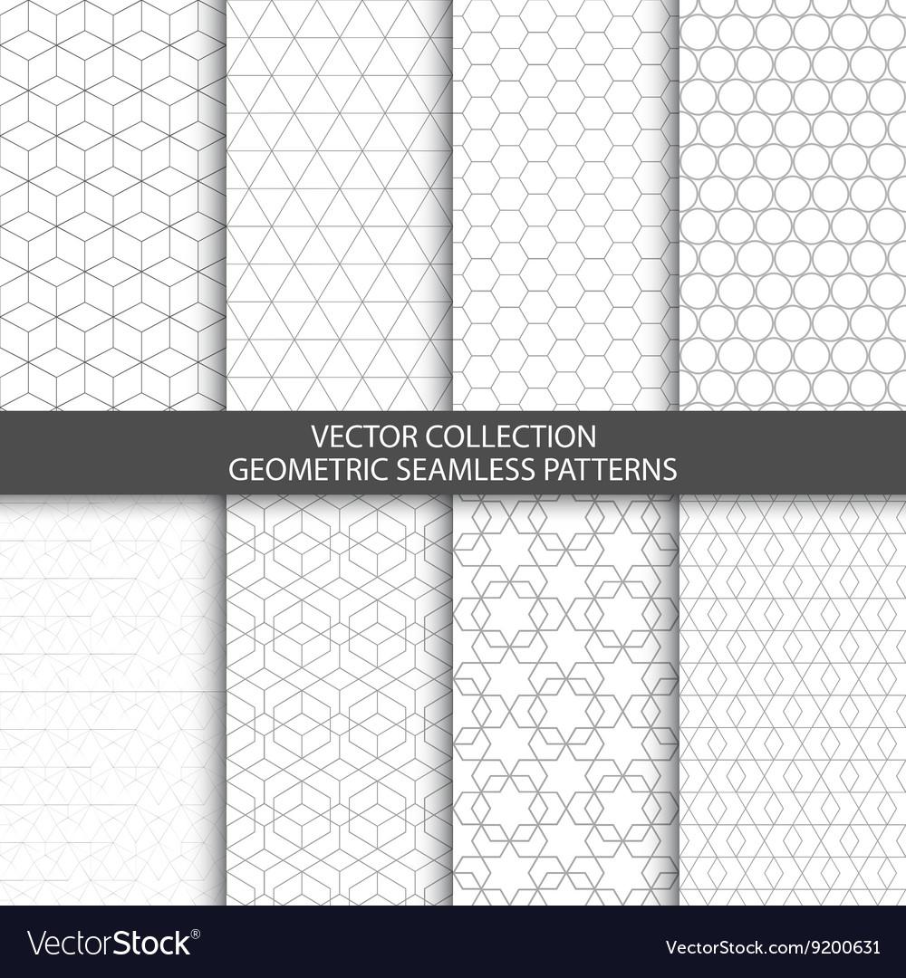 Geometric ornamental patterns