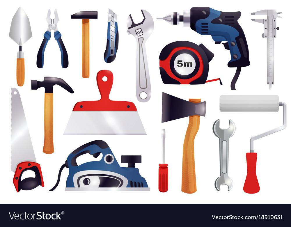 Repair renovation carpentry tools set