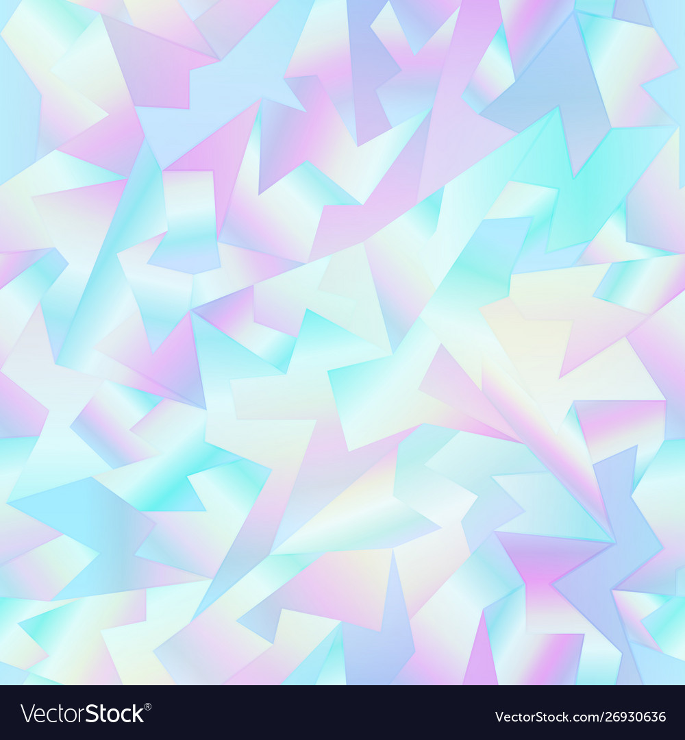 Holographic mosaic pattern