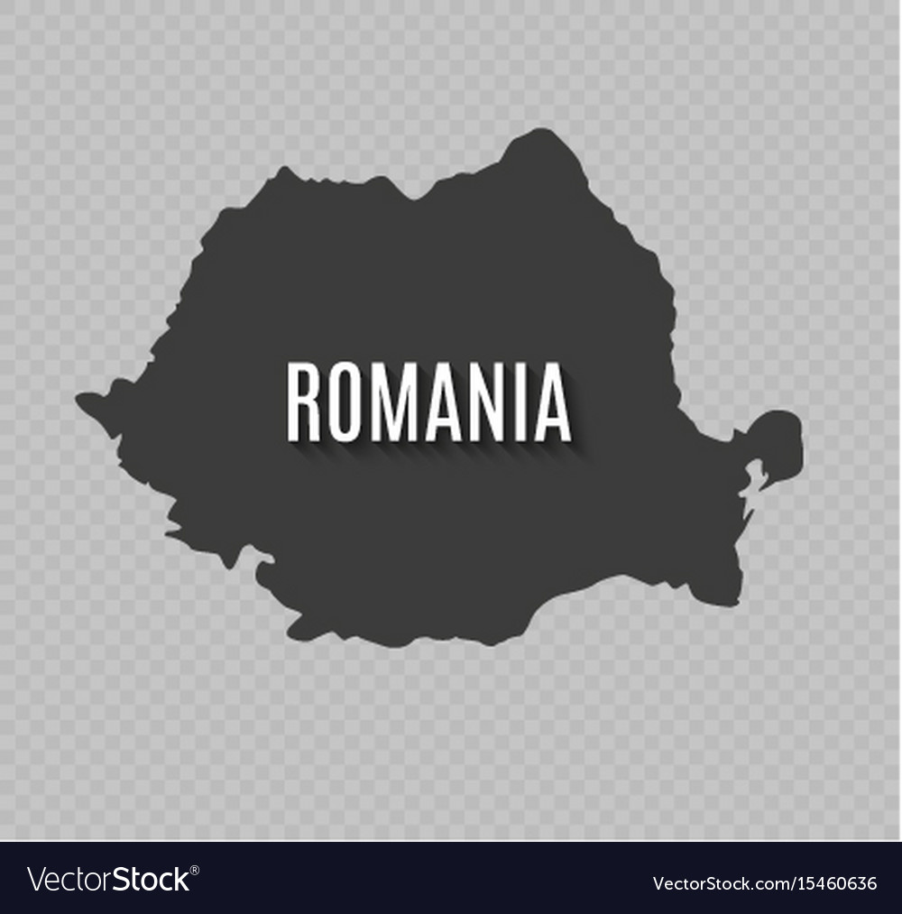 Romania World Map World Geography Royalty Free Vector Image