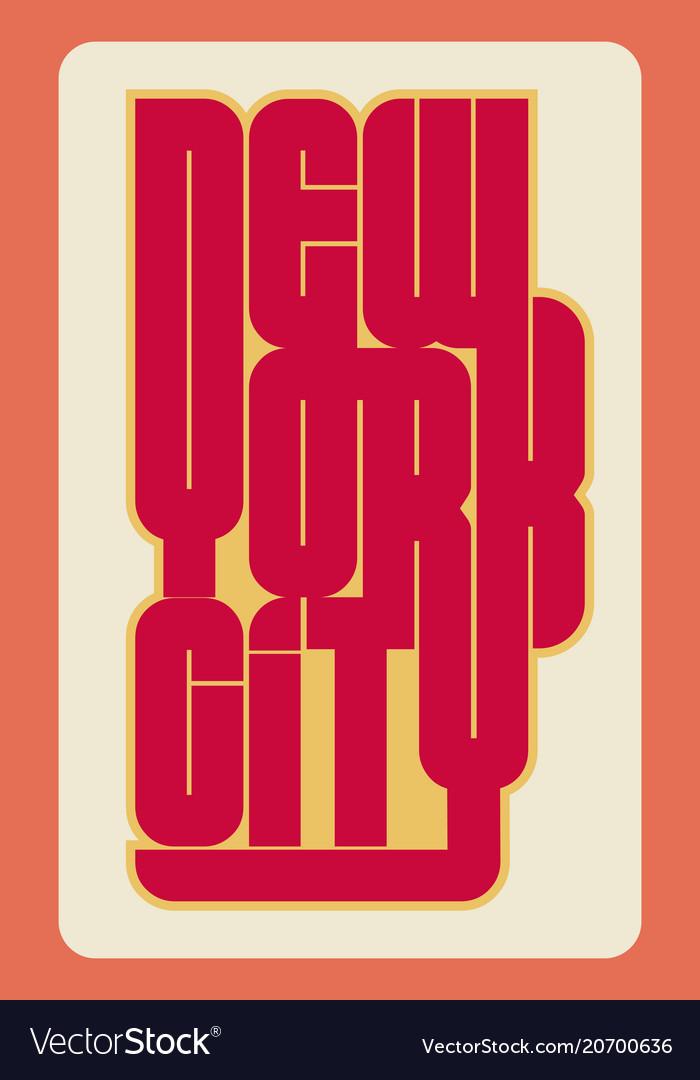 Sport wear typography emblem t-shirt stamp