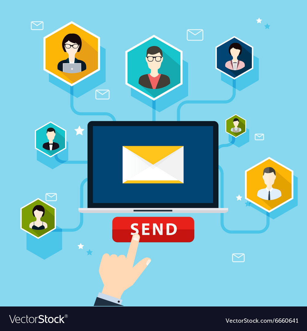 Running email campaign email advertising direct